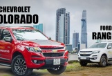 So sánh Chevrolet Colorado 2018 và Ford Ranger 2018