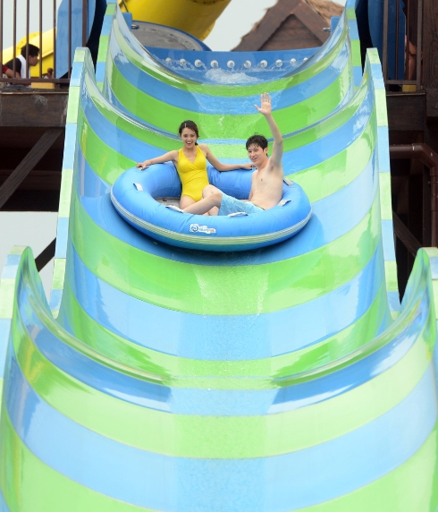 typhoon water park sun world halong complex 2